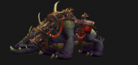 Mushan beast mount (black)
