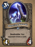 Dancing Swords - Neutral Card from Curse of Naxxramas