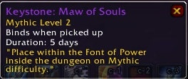 How to enter mythic dungeons