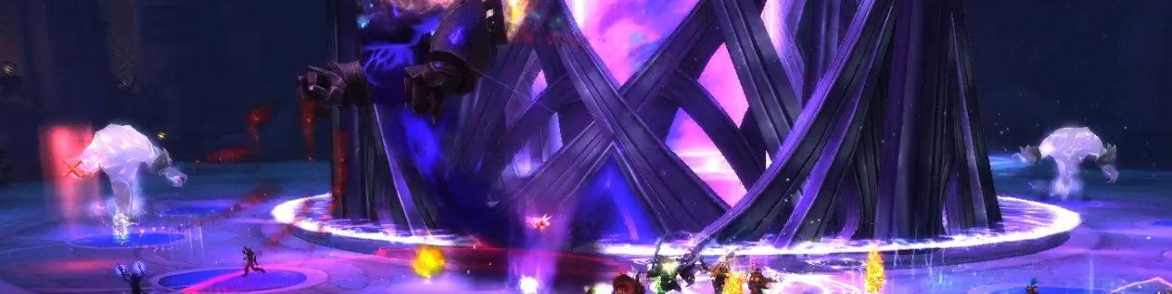 Разделите рейд на группы для боя с двумя Угасающими частицами времени