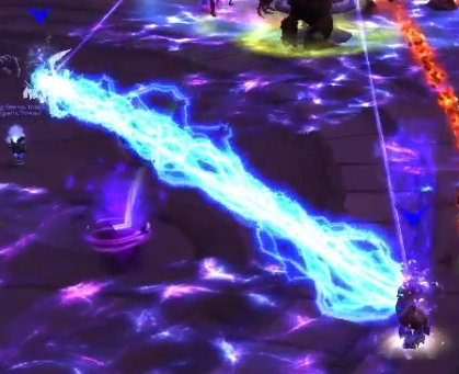 Синие Электрические узы - вы стоите слишком далеко друг от друга!