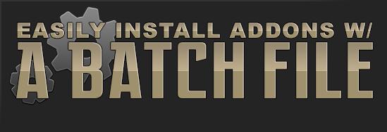 Install Addons w/ a Batch File [Windows] - Guides - Wowhead