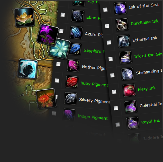 Herbs, Pigments & Inks    Oh, my! - Guides - Wowhead