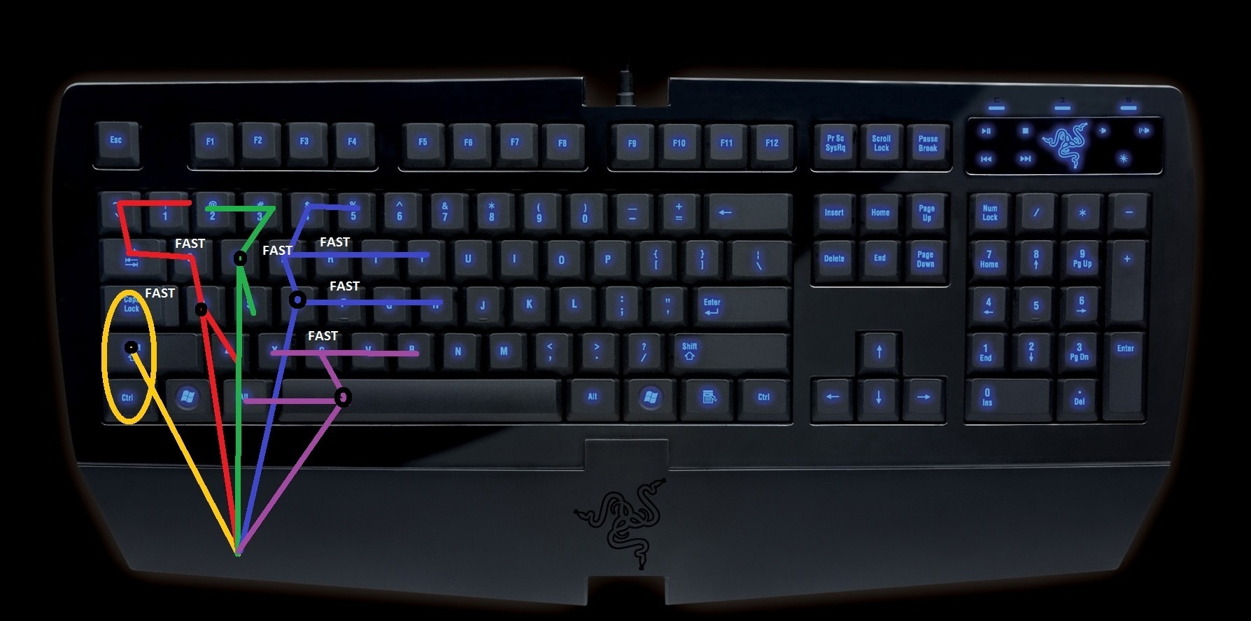 The art of effective keybinding guides wowhead if your keyboard varies alot from it dont sweat it after reading this you can just identify the ideal setup for your own case by making the same finger gumiabroncs Choice Image