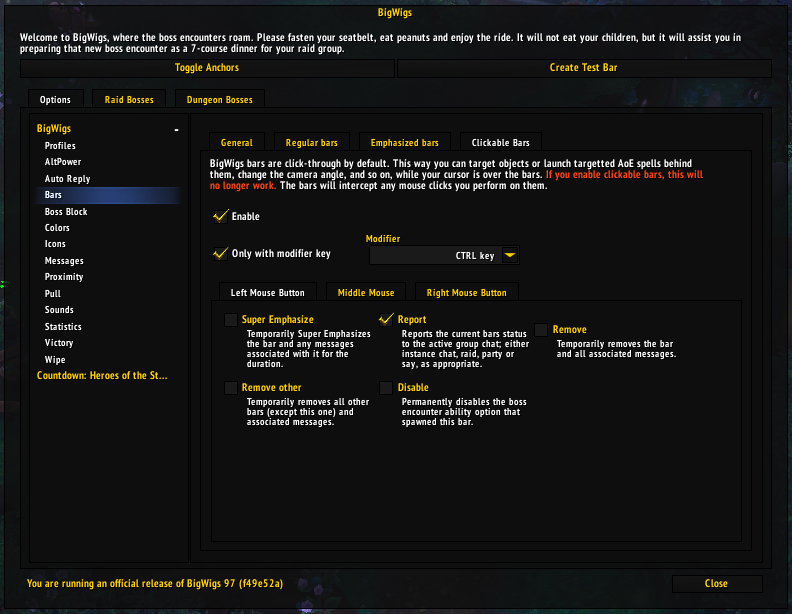 BigWigs Boss Mods Addon Guide - Guides - Wowhead