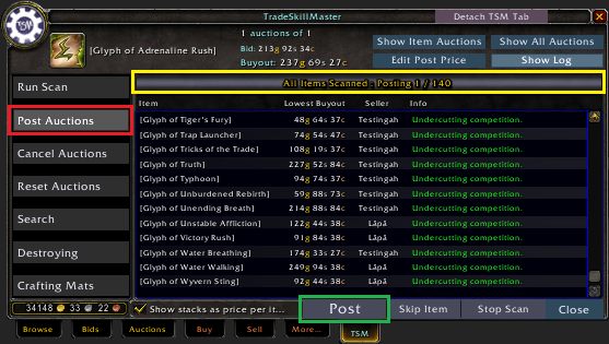 Starting Your Auction House Glyph Business - Guides - Wowhead