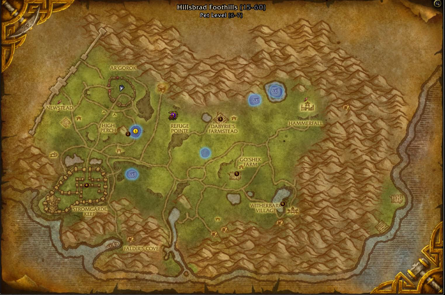 Rewards From The Arathi Highlands Warfront Guides Wowhead