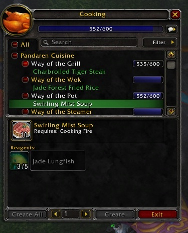 Pandarian Cooking All The Way From 1 600 Guides Wowhead