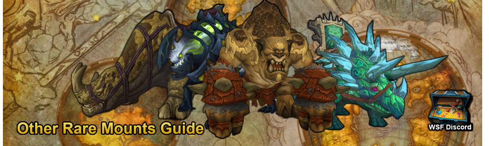 Through the Years: A Notable Open-World Rare Mount Guide - Guides