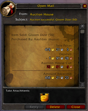 Introduction to the Auction House and the Classic Economy