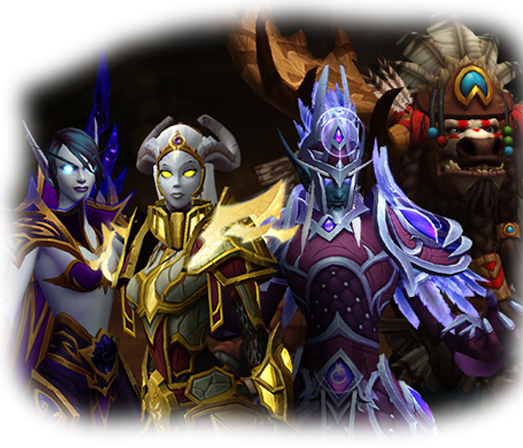 Leveling Up Allied Races for Heritage Armor [No dungeons] - Guides