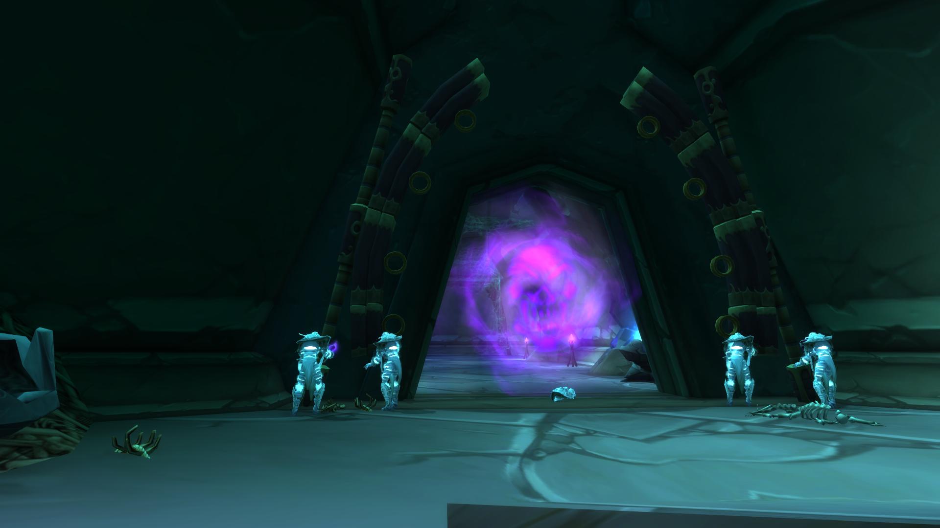 Входы в подземелье Burning Crusade