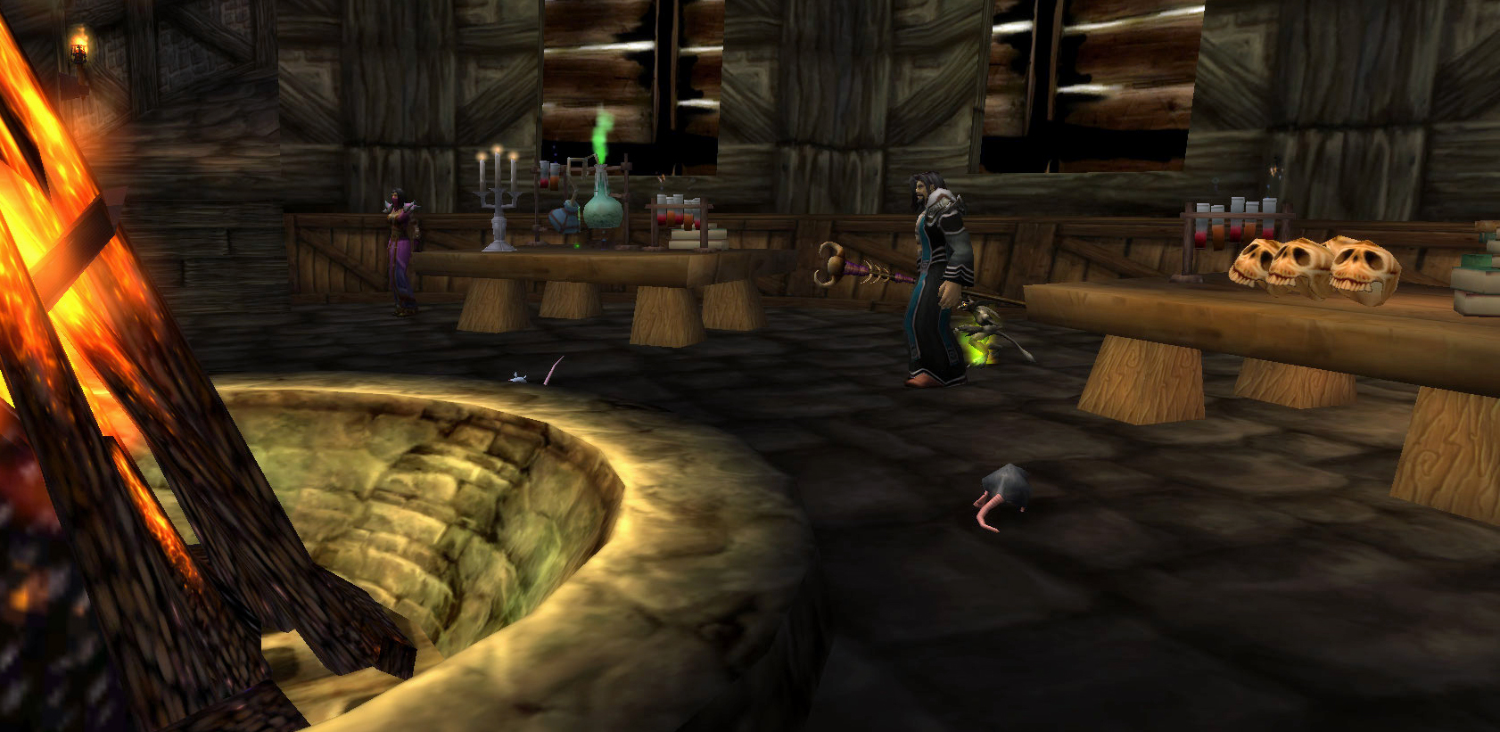WoW Classic Warlock Trainer and Demon Trainer Locations