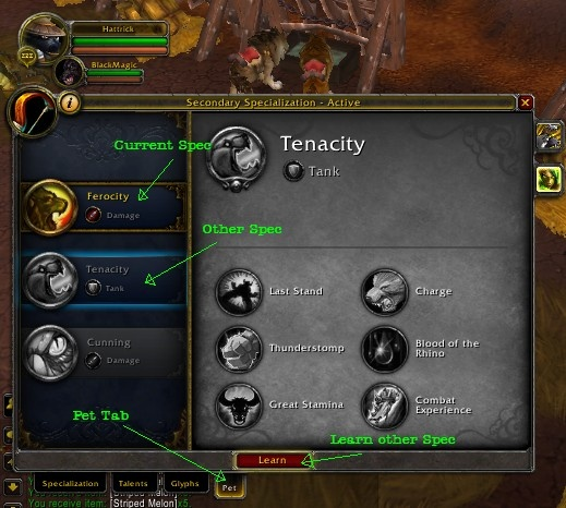 Hunter Pet Abilities Archive Guides Wowhead