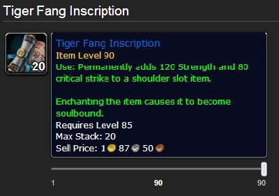 Shoulder Enchants An Exhaustive List Guides Wowhead