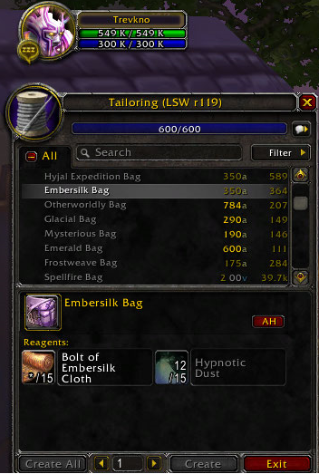 Trevkno's Guide to Fast Gold - Guides - Wowhead