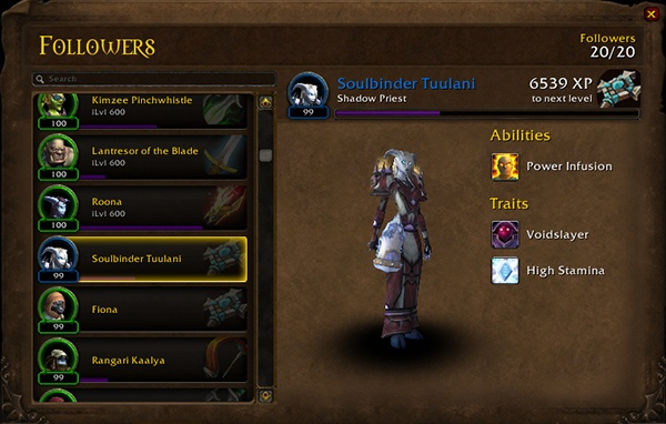 Warlords Of Draenor Follower Guide Guides Wowhead