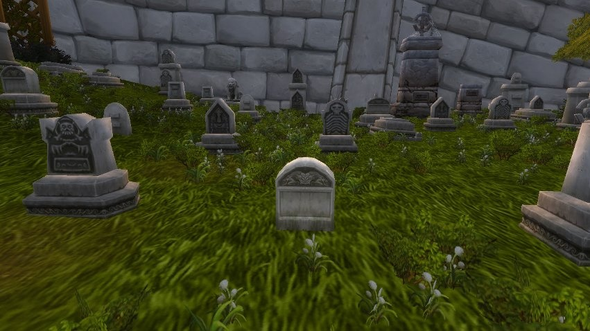 Nicholas Headstone Is Circled