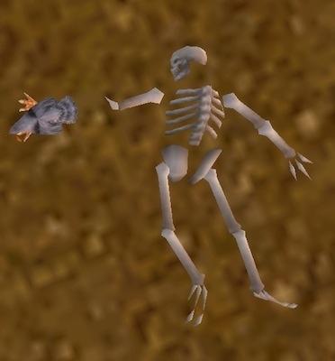Afbeeldingsresultaat voor wow skeleton on ground