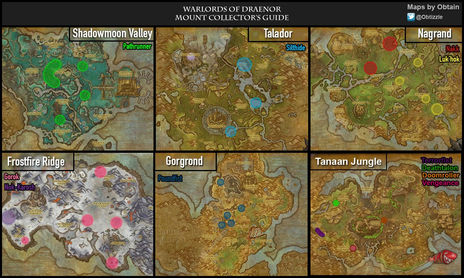 Warlords of Draenor Mount Collector's Guide - Guides - Wowhead