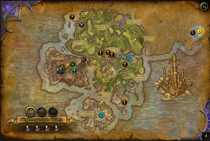 broken isles bonus objectives