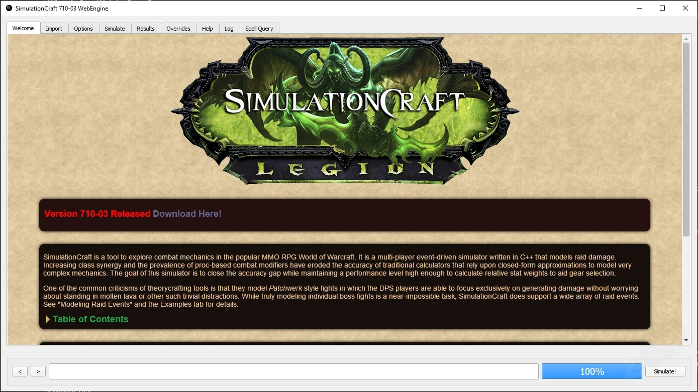 How To Use Simulation Craft In Wow