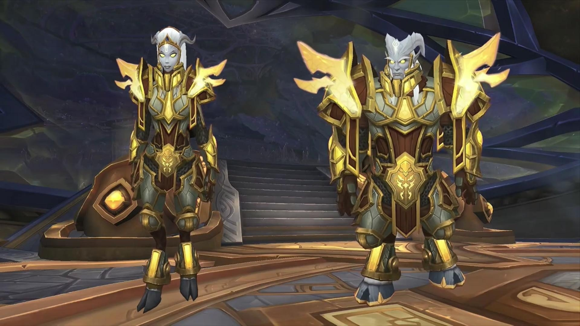 Lightforged Draenei Allied Race Leveling Guide (20-120