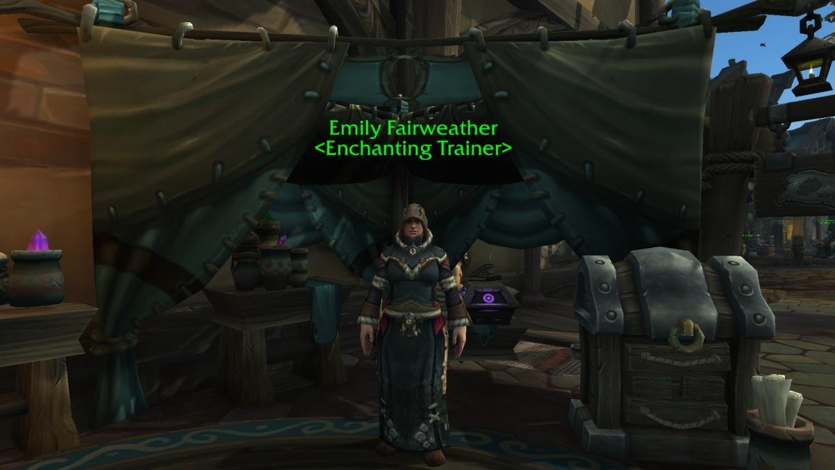 Shoulder enchants; an exhaustive list guides wowhead.