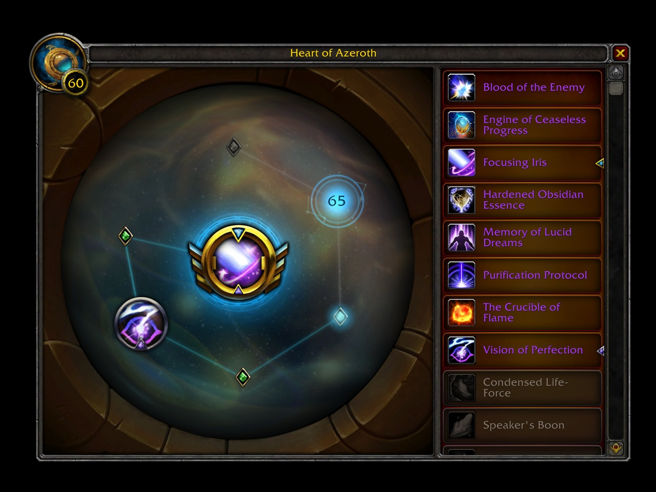 Heart of Azeroth Essence Overview - Descriptions, Rank Upgrades and