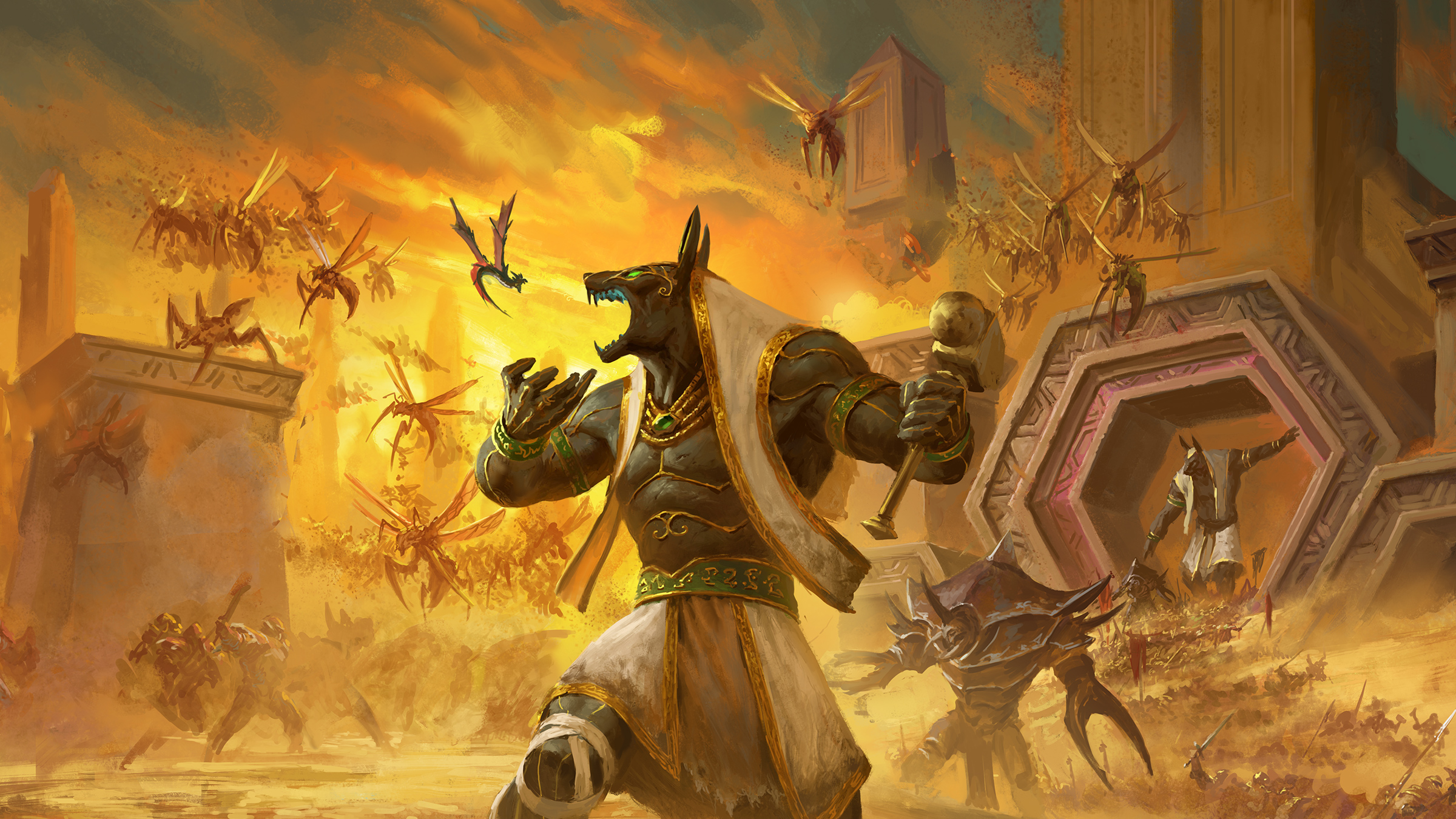 Bang A Gong Wow Classic Guide To The Scepter Of The Shifting Sands Quest Line Guides Wowhead