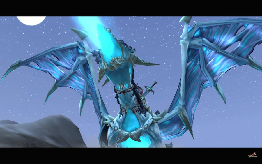 Death Knight Class Mount and Quest - Deathlord's Vilebrood ...