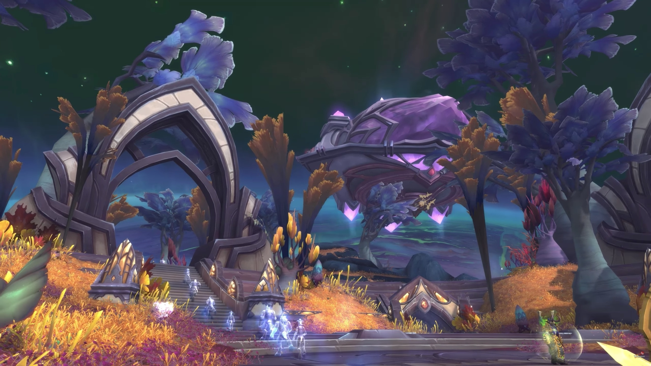 Questing Through Macaree On Argus Patch 73 Wowhead News
