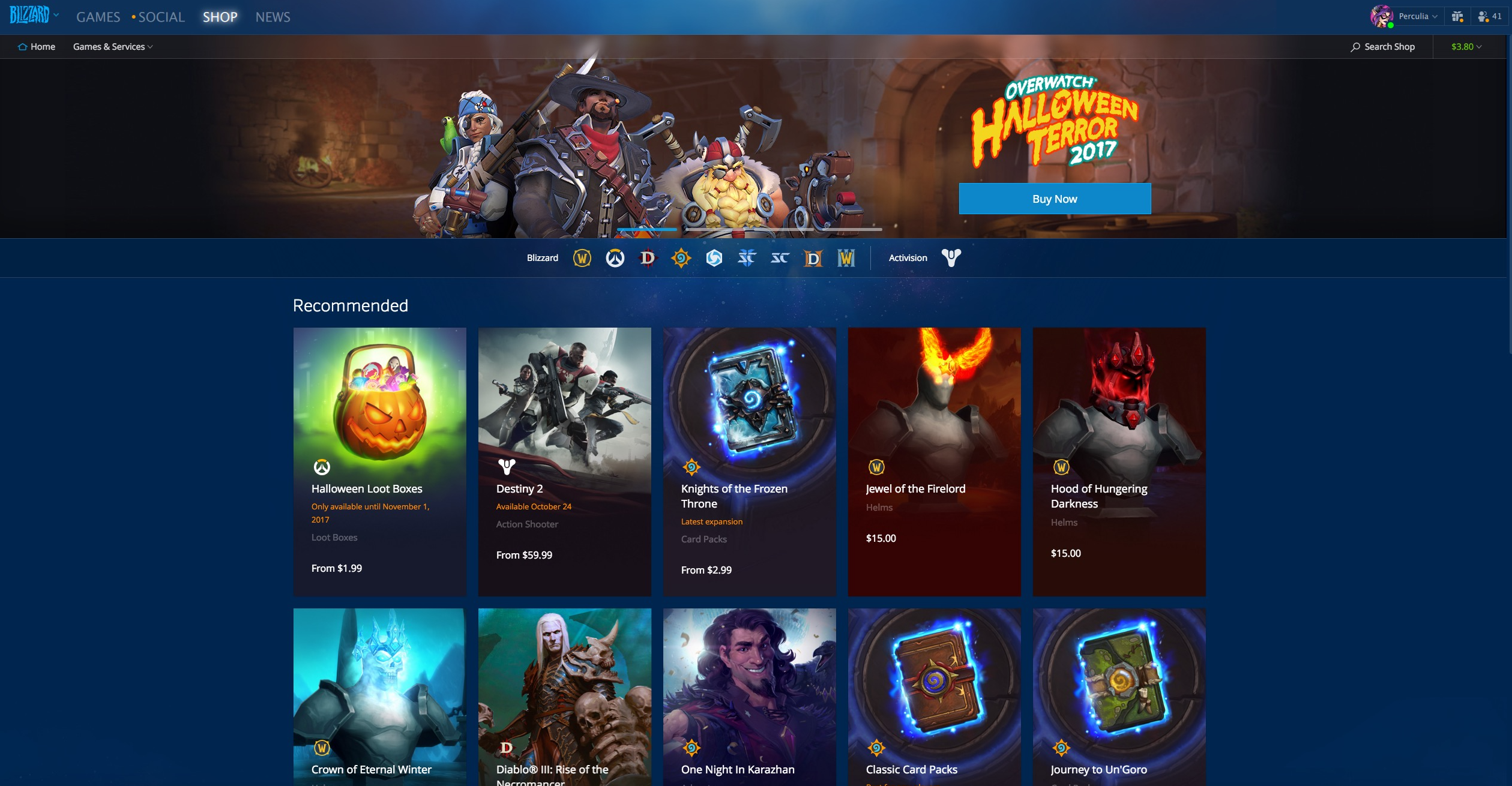 Gifting Now Available to BattleTag Friends Through Blizzard Battle ...