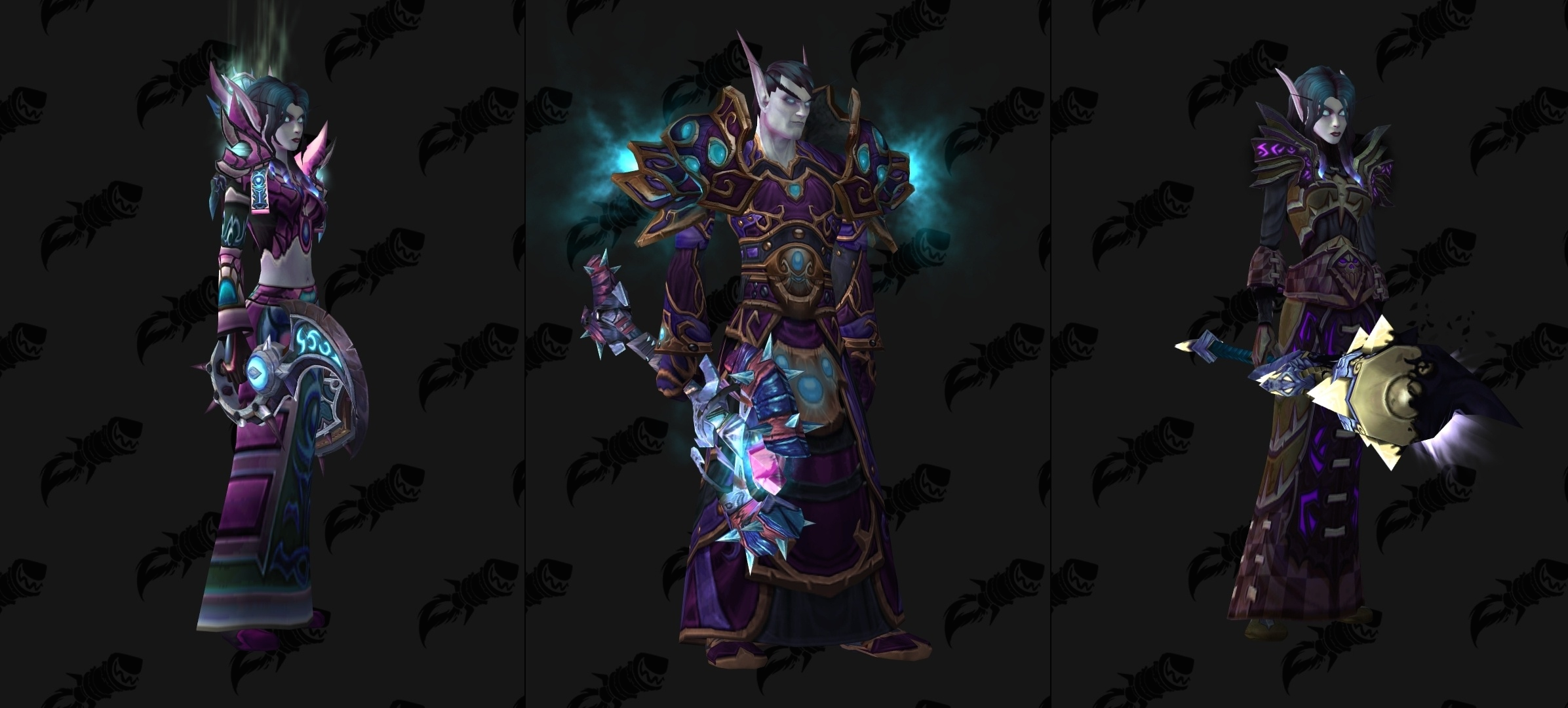 Void Elf Allied Race Transmog Suggestions The Blog Box