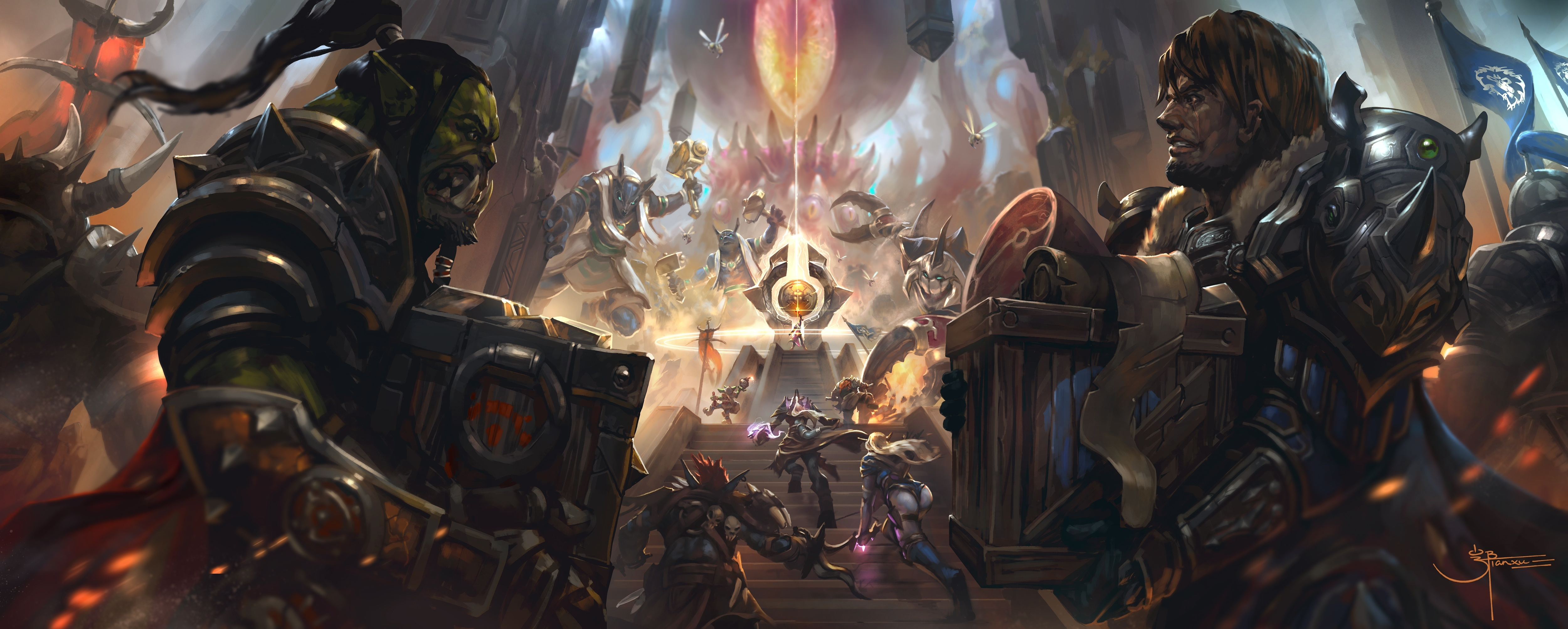 World Of Warcraft 13th Anniversary Art Contest Winners
