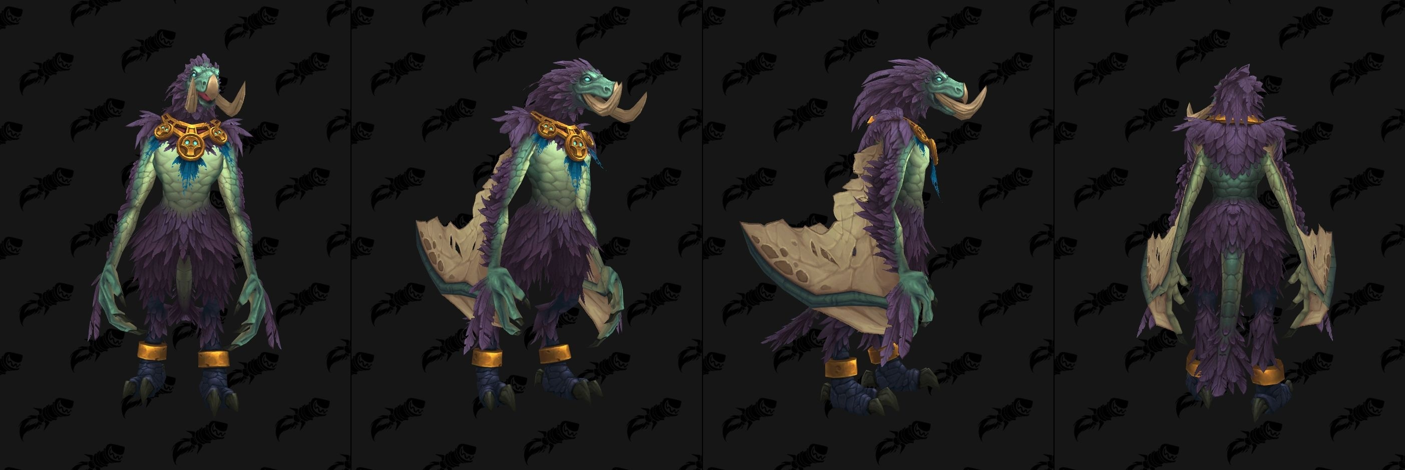 how to change the look of your bear form wow