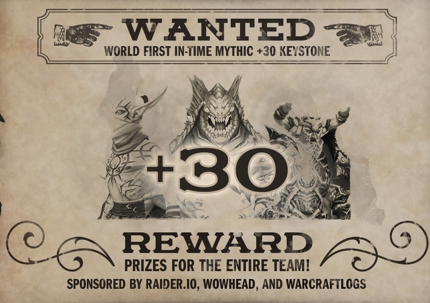 World First +30 Mythic+ Bounty: A Raider.IO Partnership ...
