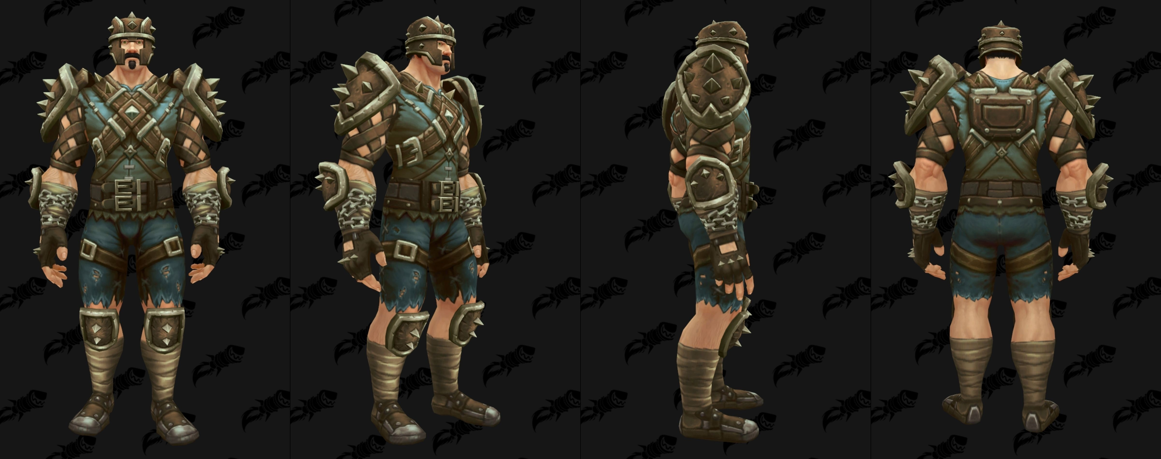 Brawler S Guild 8 1 5 Armor And Tabards Now In Dressing