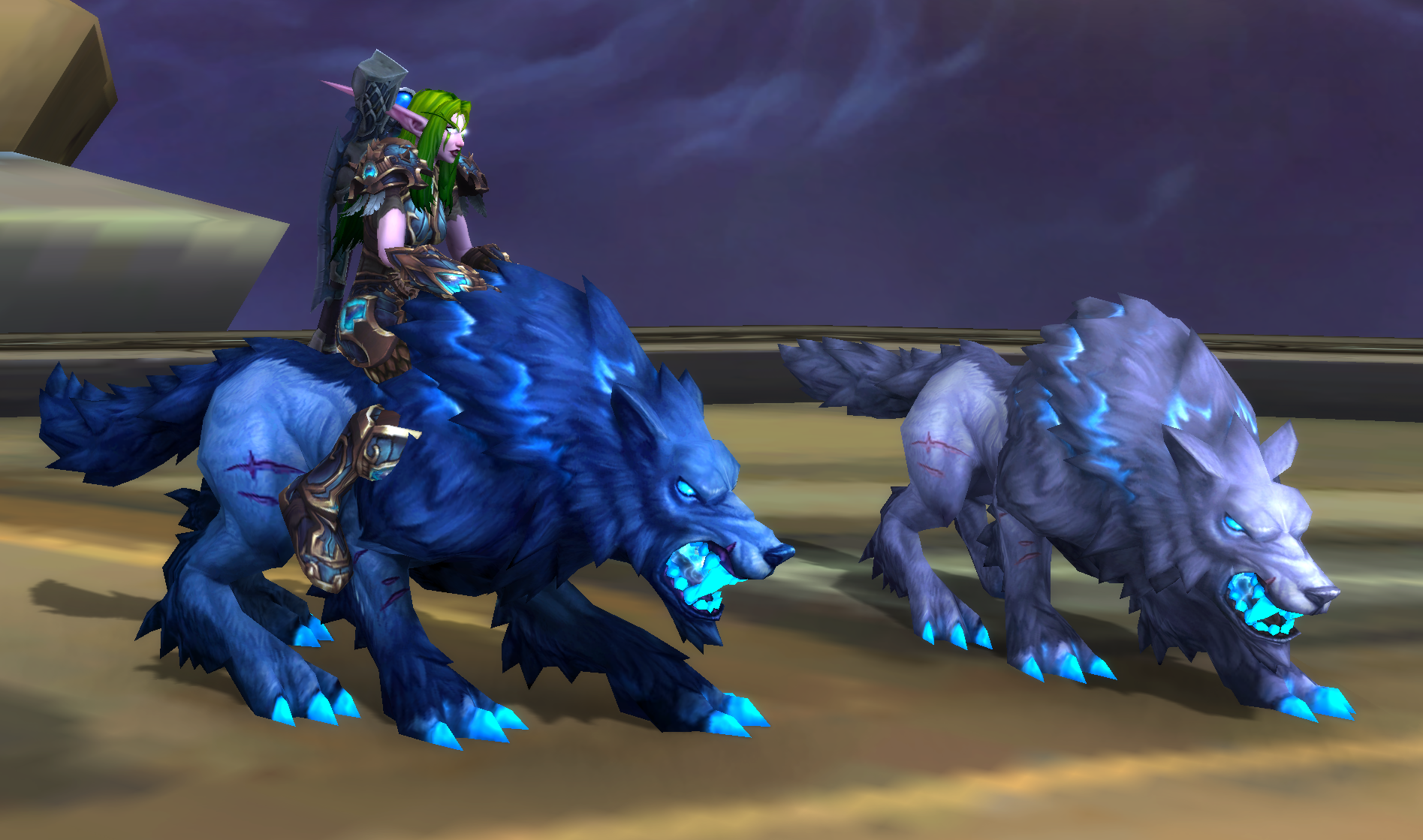 Hunters will be able to use Hati as a mount - General
