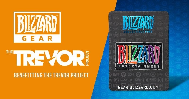 New Blizzard Shop Merch Blizzard Pride Pin And Summer