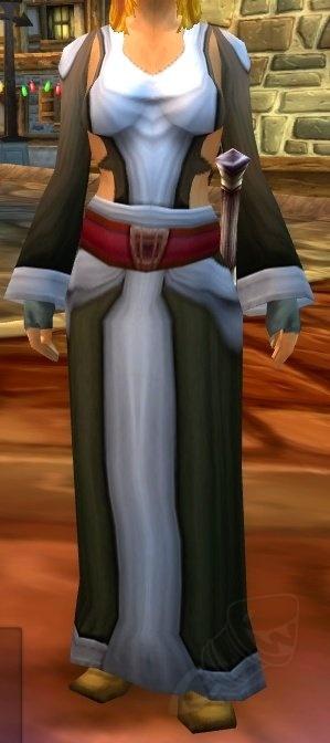 Brown Linen Robe - Item - World of Warcraft