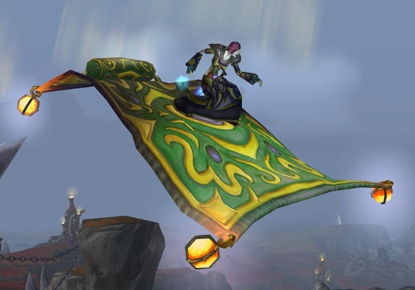 Magic Carpet Ride Quest World Of Warcraft