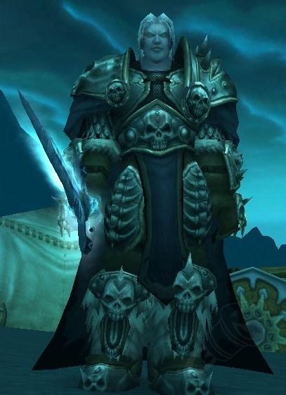 Prince Arthas Menethil Npc World Of Warcraft