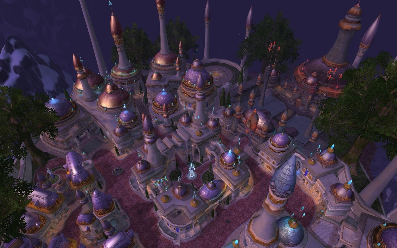 Dalaran Zone World Of Warcraft