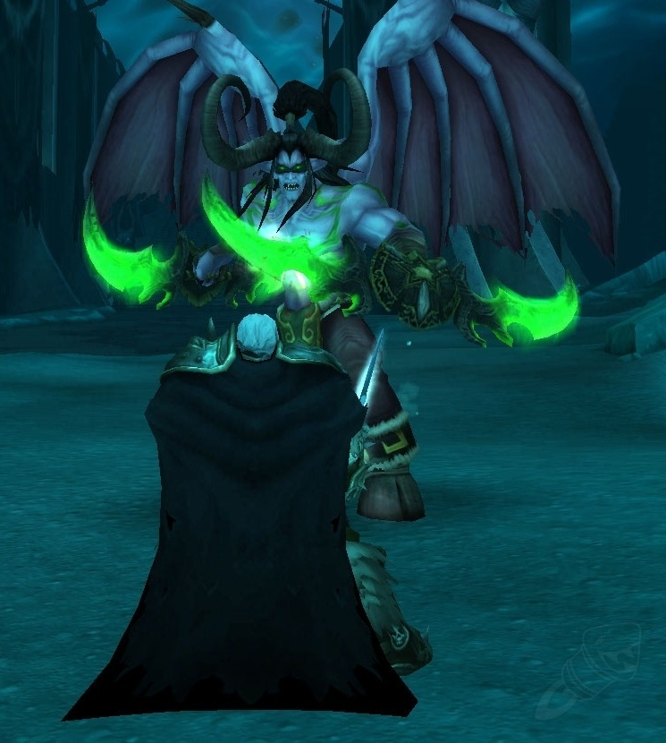 Arthas vs Illidan