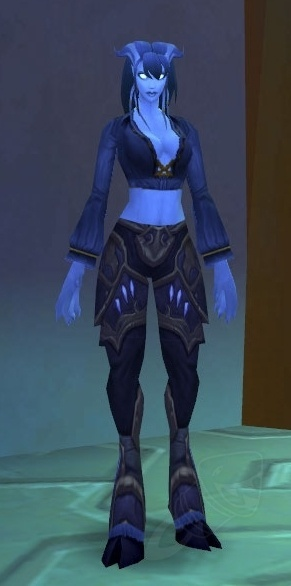 Noob Mage By Joshcorpuz85 Female Druid Witch Sorceress: Conqueror's Kirin Tor Leggings