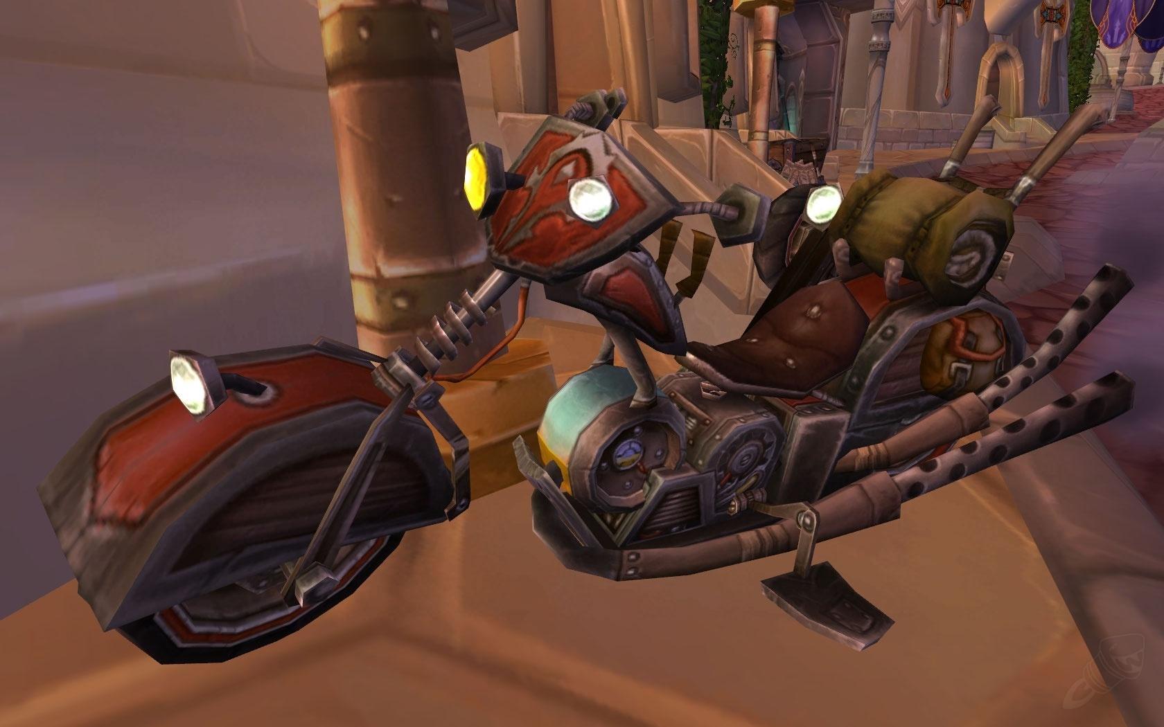 Schematic: Mechano-Hog - Item - World of Warcraft