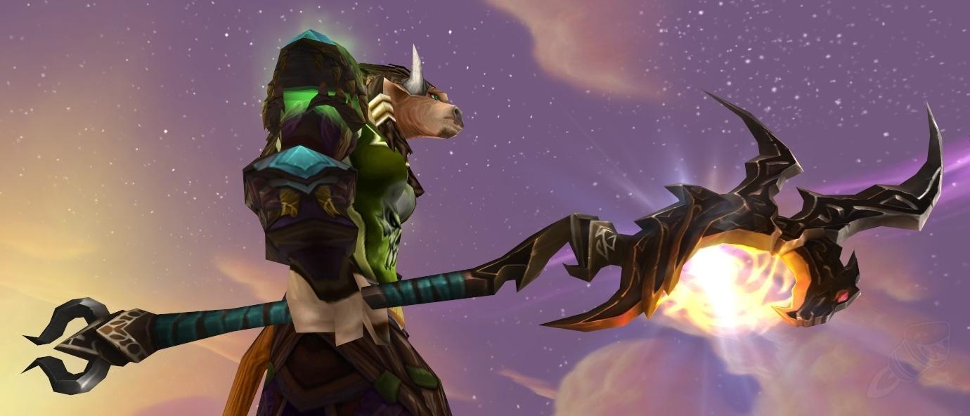 Staff of Draconic Combat - Item - World of Warcraft