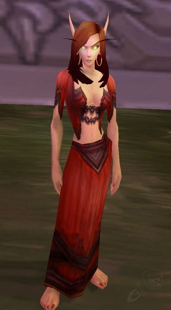 Robe Der Hervorrufung Gegenstand World Of Warcraft