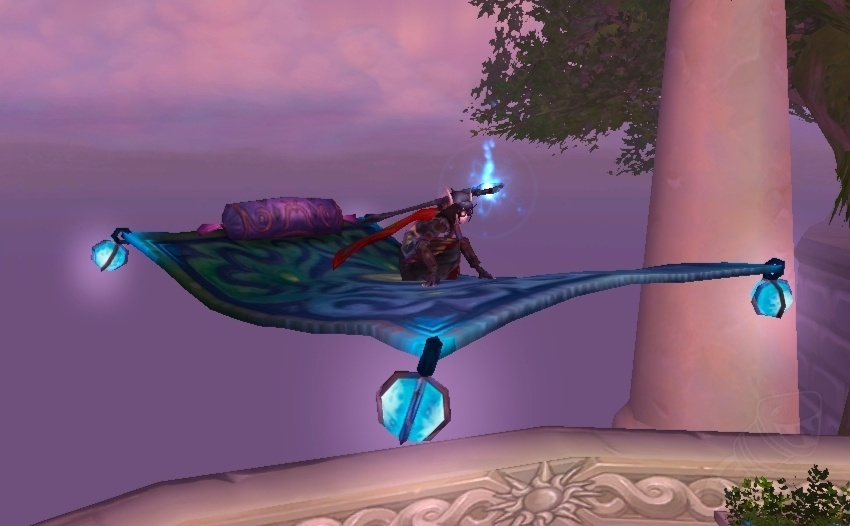 Frosty Flying Carpet Spell World Of Warcraft